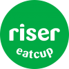 Riser Eatcup smile Logo